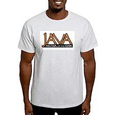 Java (2) Ash Grey T-Shirt