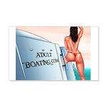 AdultBoating 22x14 Wall Peel