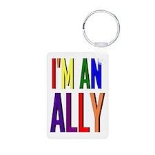 I'm an Ally Keychains