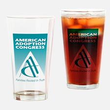 American Adoption Congress Drinking Glass