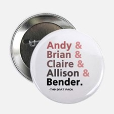 "'Breakfast Club Characters' 2.25"" Button"