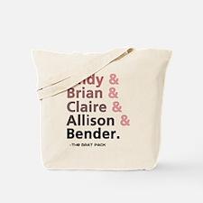 'Breakfast Club Characters' Tote Bag