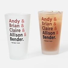 'Breakfast Club Characters' Drinking Glass
