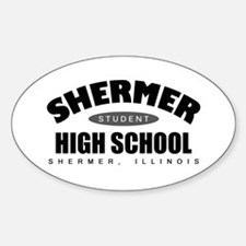 'High School of the 80's' Decal