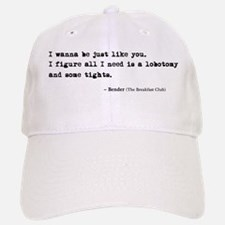 'Breakfast Club Quote' Baseball Baseball Cap