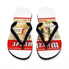 Michigan Beer Label 7 Flip Flops