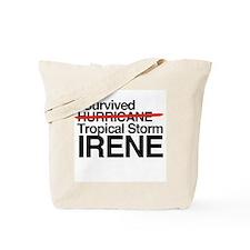 Cool Hurricane irene Tote Bag