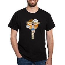 Jesus Christ brb / lol T-Shirt