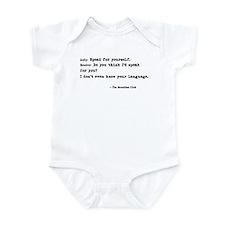'Breakfast Club Quote' Infant Bodysuit