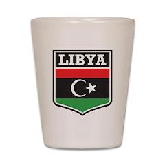 Libya Shot Glass