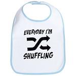 Everyday I'm Shuffling Bib
