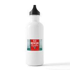 Michigan Beer Label 3 Water Bottle