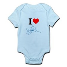 shark baby Body Suit