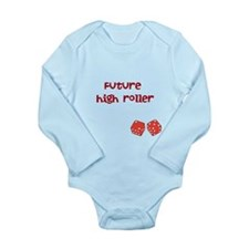 high roller baby Body Suit