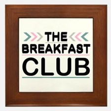'The Breakfast Club' Framed Tile