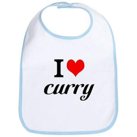 I Love Curry Bib
