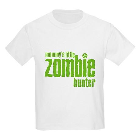 Mommy's Little Zombie Hunter Kids Light T-Shirt