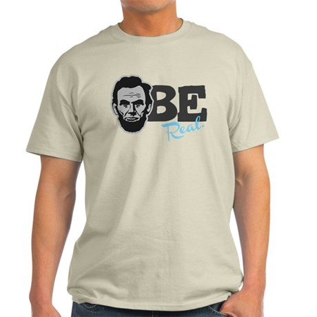 A-BE Real Lincoln Official Light T-Shirt