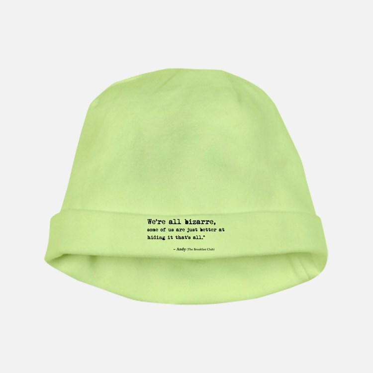 'Breakfast Club Quote' baby hat