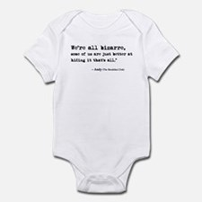 'Breakfast Club Quote' Infant Bodysuit