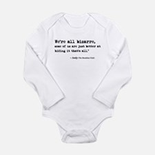 'Breakfast Club Quote' Long Sleeve Infant Bodysuit