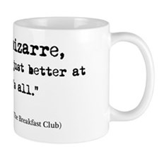 'Breakfast Club Quote' Small Mug