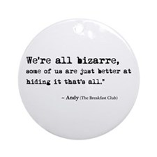 'Breakfast Club Quote' Ornament (Round)