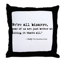 'Breakfast Club Quote' Throw Pillow