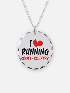 I heart (love) running CC Necklace