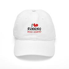 I heart (love) running CC Baseball Cap