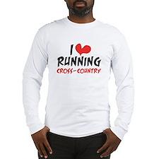 I heart (love) running CC Long Sleeve T-Shirt