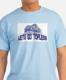 Let's Go Topless, Jeep T-Shirt