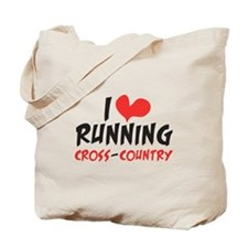 I heart (love) running CC Tote Bag