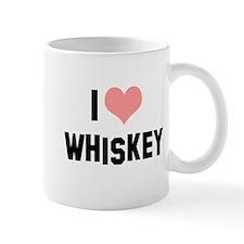 I heart Whiskey Mug