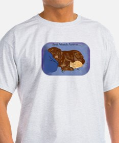 Dog and Cat BFFs T-Shirt
