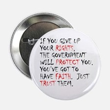 "Give Up Your Rights 2.25"" Button (10 pack)"