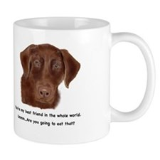 Chocolate Lab Mug