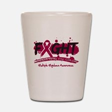 Fight Multiple Myeloma Cause Shot Glass