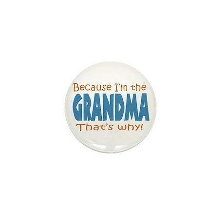 I'm the Grandma Mini Button