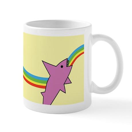 Jake's Rainbow Shark Mug