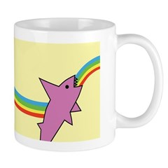 Jake's Rainbow Shark Mug