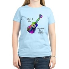 Women's Groovy Ukulele Light T-Shirt
