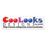 CooLooks Logo Sticker (Bumper)
