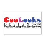 CooLooks Logo Car Magnet 20 x 12