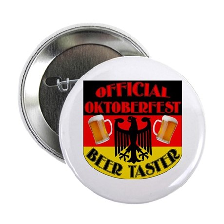 """Official Beer Taster 2.25"""" Button"""