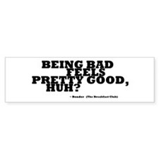 'Breakfast Club Quote' Bumper Sticker