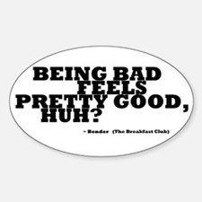 'Breakfast Club Quote' Decal