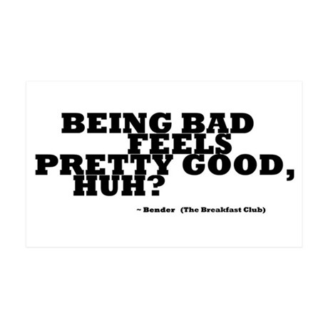 'Breakfast Club Quote' 38.5 x 24.5 Wall Peel