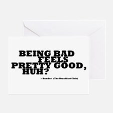 'Breakfast Club Quote' Greeting Card