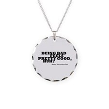 'Breakfast Club Quote' Necklace